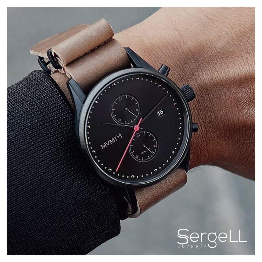 la mejor actitud 97143 e7b14 Reloj MVMT 42 mm negro con fecha