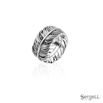 #Sergell #Joyeria Sergell #Joyeria Murcia #Joyeria hombre #Joyas Murcia #Joyas hombre #anillo Thomas Sabo #anillo pluma thomas sabo #Thomas Sabo Murcia #Thomas Sabo España #web anillo #online anillo