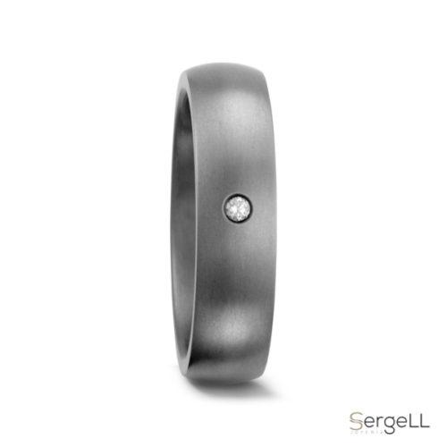 Anillo hombre de titanio anillos sencillos