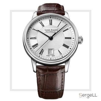 Louis erard 69266AA21.BDC80 #Reloj clasico hombre #relojes hombre correa piel marron #reloj clasico #relojes clásicos pulsera caballero #relojes suizos clasicos