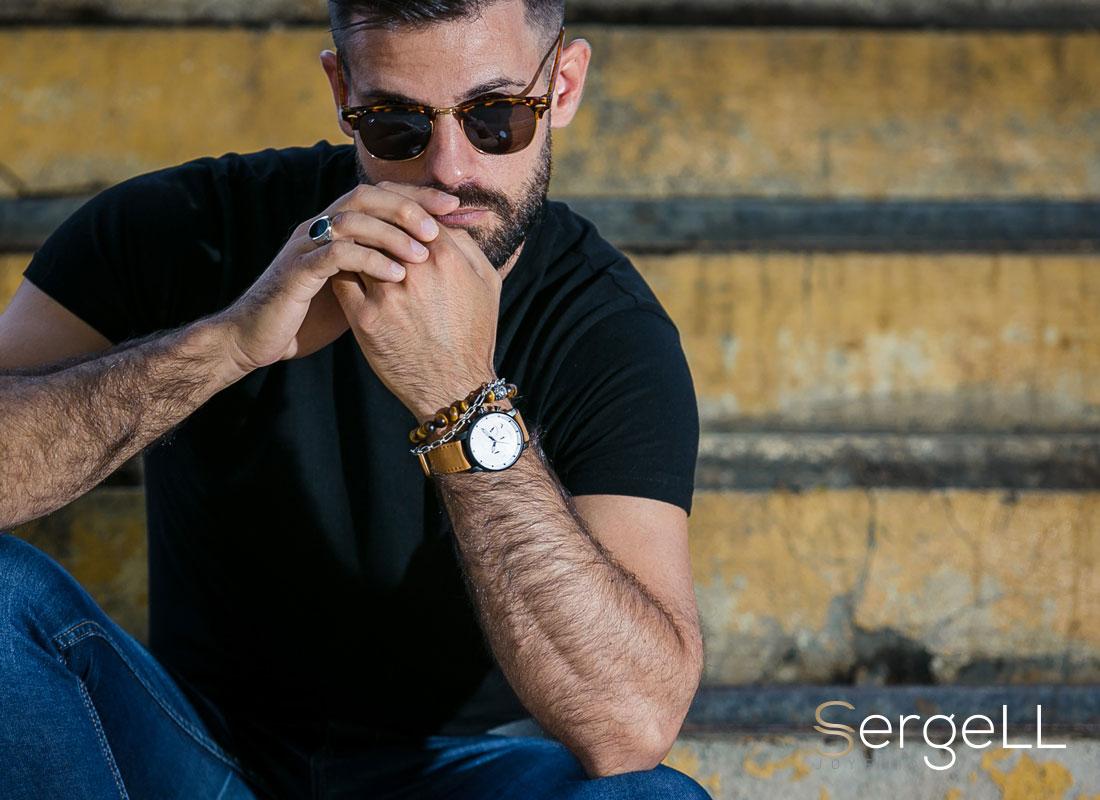 #Joyeria Sergell #Joyashombre #Joyeriahombre #Joyasparaellos #Estilo casual para hombre#Moda casual para ellos #Combinar joyas de hombre #Pulseras Thomas Sabo