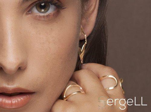 #Joyería Tessara #Joyeria mujer #pendiente oro #anillo oro amarillo #joyeria murcia #anillo mujer murcia #anillo mujer originales #joyeria sergell #sergell joyas #anillo flecha mujer