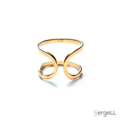 #Joyeria mujer #anillo oro amarillo #joyeria murcia #anillo mujer murcia #anillo mujer originales #joyeria sergell #sergell joyas #anillo flecha mujer