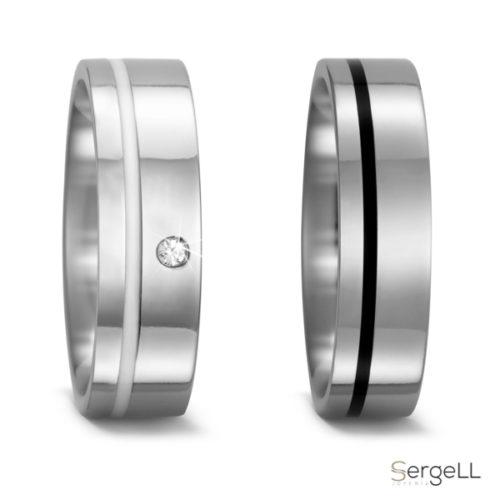 Alianzas de titanio y cerámica bodas hombre alianzas sencillas sencilla el corte ingles de boda