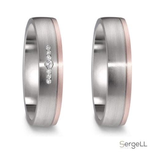 Alianza titanio mujer alianzas para el y ella diferentes anillos boda online