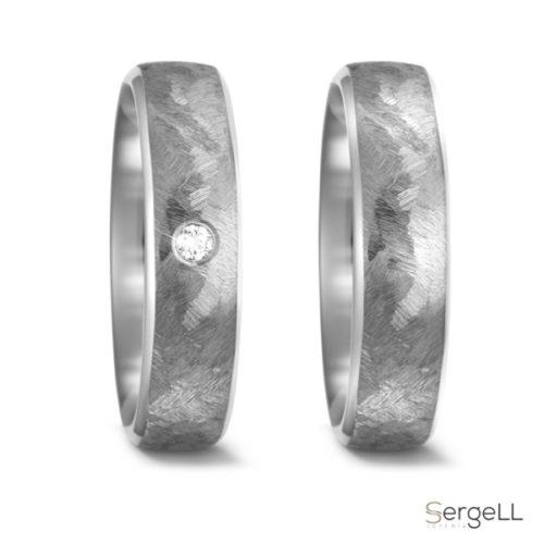 Anillo alianzas titanio moda hombre online gay pride jewelry anillos diferentes