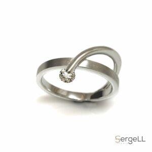 #Женские украшения #бриллиантовое кольцо #Роскошное женское кольцо #Современное кольцо с бриллианто #Купить кольцо онлайн #Купить украшения онлайн