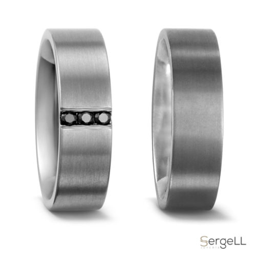 alianzas boda simples titanio Moda de hombre para boda anillos masculinos online en Murcia