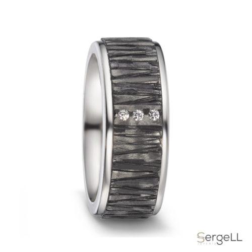 anillo titanio y carbono hombre corte ingles precio amazon anillos tiendas barcelona
