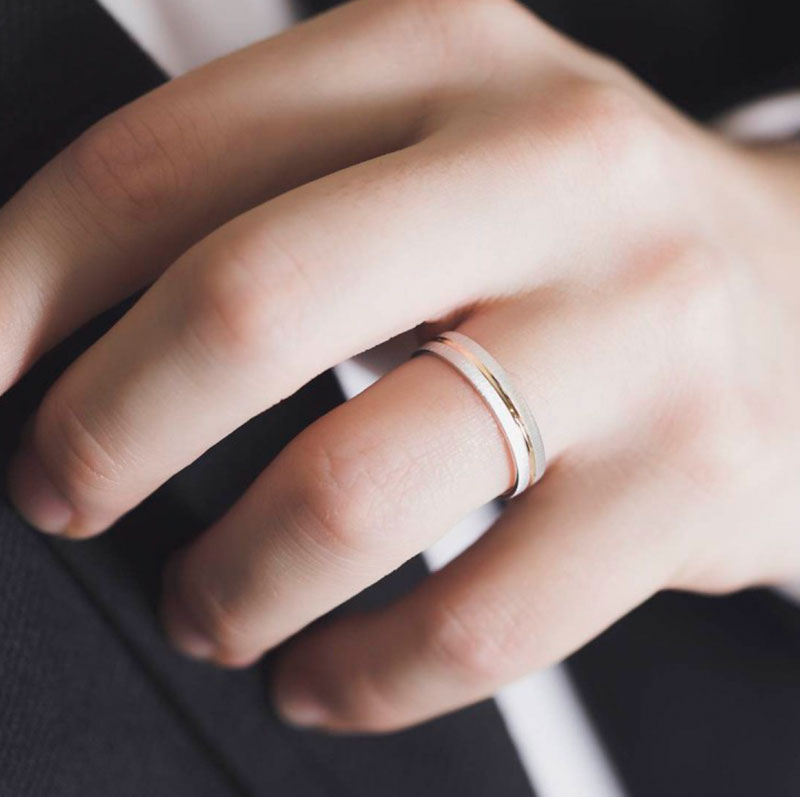 Alianzas para hombres, anillos de boda para hombres, alianzas de boda para él, alianzas para gays