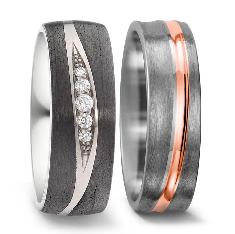 Anillos de titanio para mujer, alianzas titanio para mujer, joyas titanio para mujer