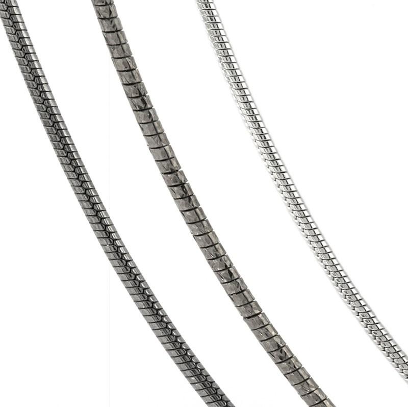 Cadenas modernas mujer, cadenas plata mujer