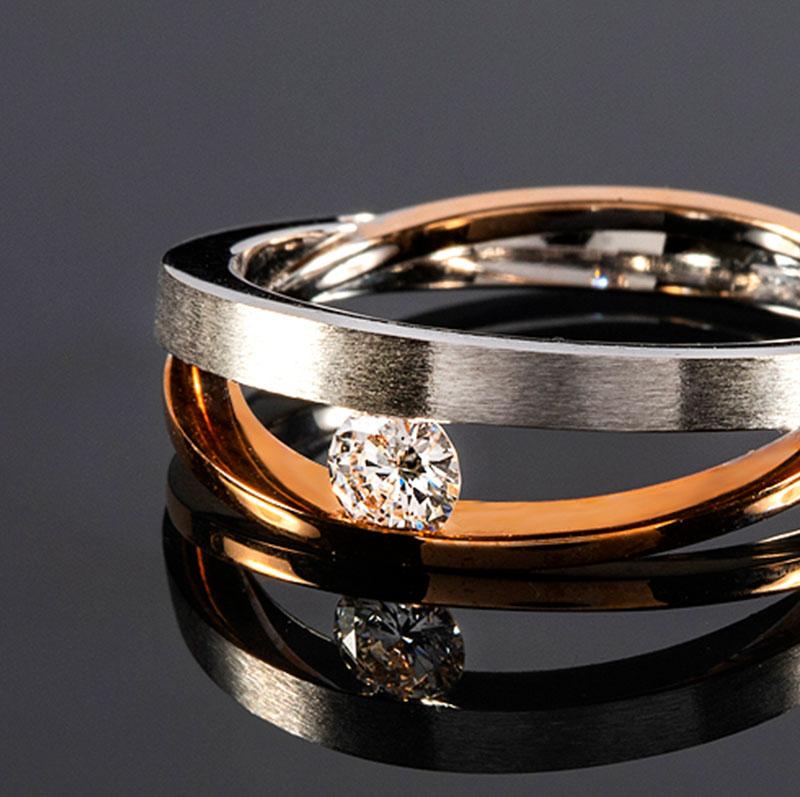Anillos con diamantes, anillos diamante mujer