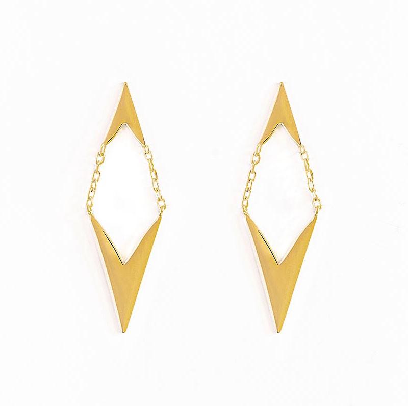joyas españolas, joyas para mujer, pendientes de oro, tessara joyas, tessara jewelry