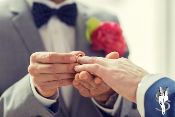 alianza hombre alianza hombre oro blanco alianzas modernas anillos de boda gay