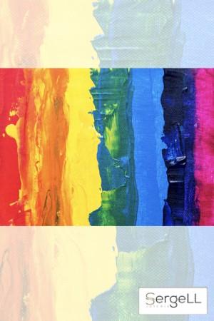 Colores bandera gay