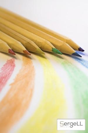 Colores bandera gay, colores arco iris