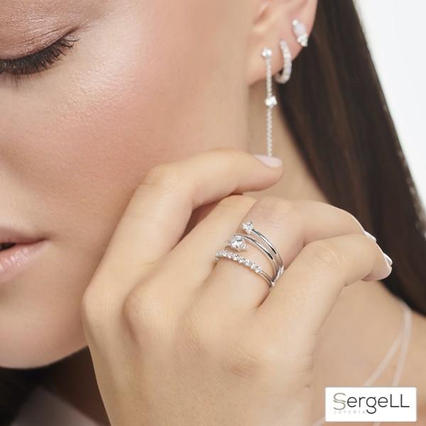 #TR2343-051-14 thomas sabo #anillos finos #anillos finos de plata #fina garcia anillos #joyeria femenina