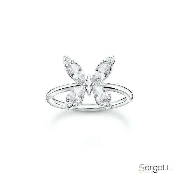 #TR2356-051-14 thomas sabo #anillo mariposa #anillo mariposa pandora #anillo mariposa el corte ingles #anillo de mariposa en plata #anillo mariposa plata de ley