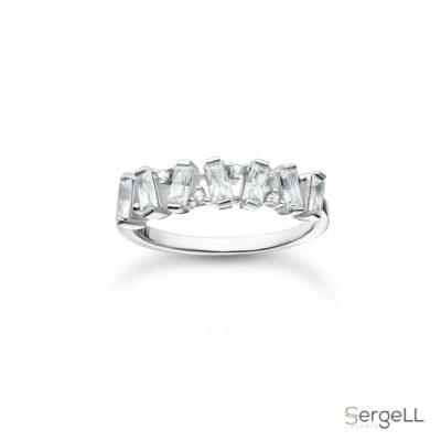 #TR2346-051-14 thomas sabo #anillo circonitas #anillo plata circonita #anillos de plata con circonitas #anillo de plata con circonitas precio #anillo pandora ciconitas