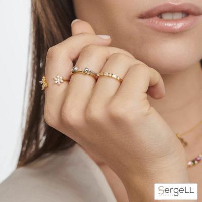 #TR2348-414-14 thomas sabo #anillos finos mujer #anillos de plata mujer finos #thomas sabo anillos el corte ingles #thomas sabo de donde es #thomas sabo malaga