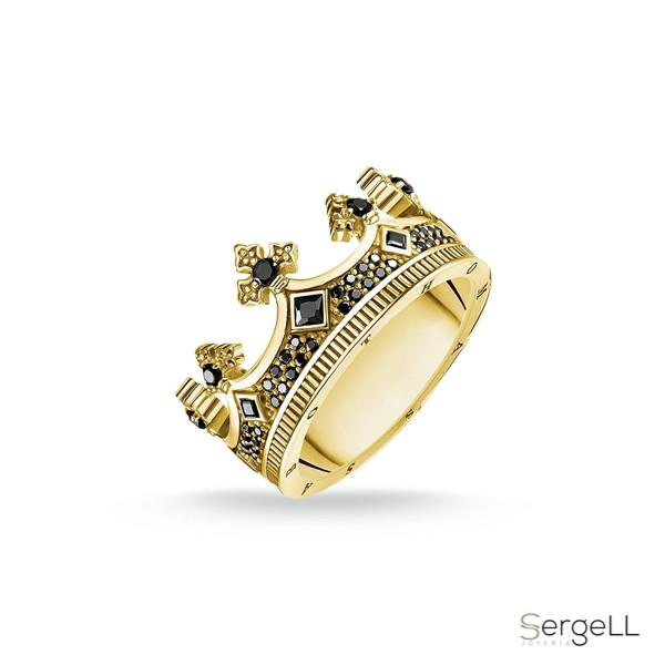 #thomas sabo TR2208-414-11 #Anillo corona oro anillos de compromiso #anillos de pareja de coronas #distribuidor thomas sabo españa