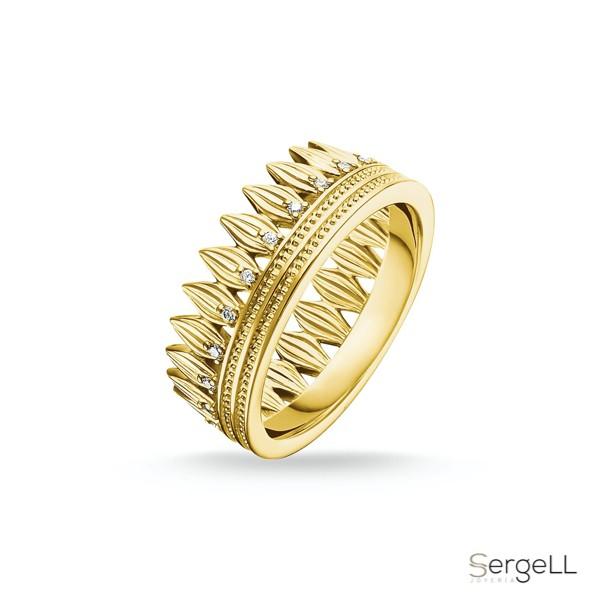 #thomas sabo TR2282-414-14 #Anillo hojas corona #anillo corona comprar #joyeria midas murcia #thomas sabo tienda online #joyerías murcia capital