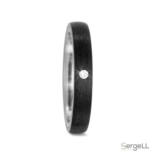 anillo negro con diamante anillos de compromiso de titanio negro precio joyeria de piedra murcia se oxidan