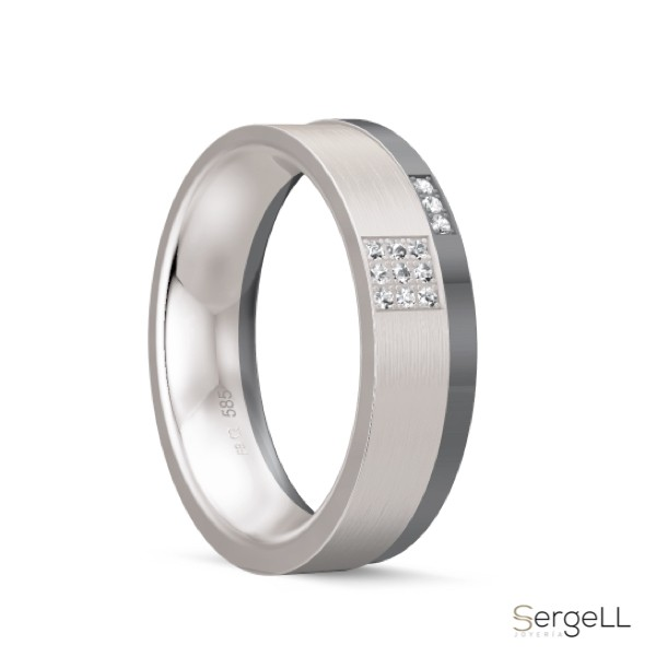 #anillos de boda lujo #alta joyeria en Murcia #anillo de compromiso o matrimonio #joyeria nupcial murcia #grosor alianzas boda