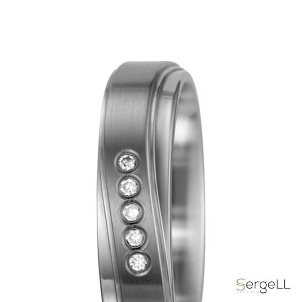 #Anillo titanio para parejas boda bodas