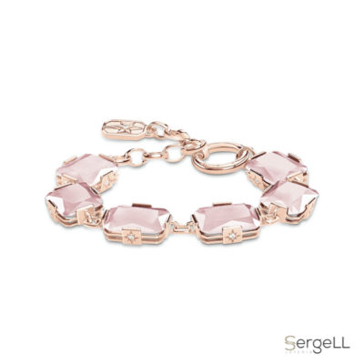 #thomas sabo A1911-417-9 #pulsera cuarzo rosa #thomas sabo pulsera cuarzo rosa propiedades significado
