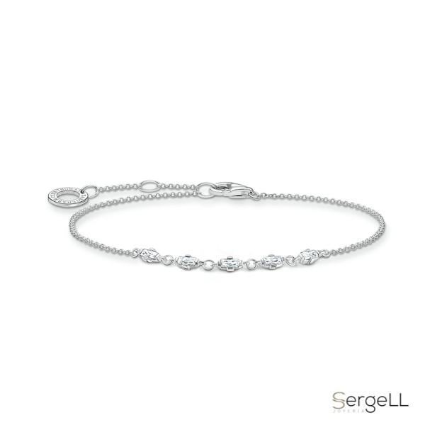 #Thomas sabo A2024-051-14 #pulseras de plata mujer el corte ingles #pulseras de plata para mujer #silver plata 925