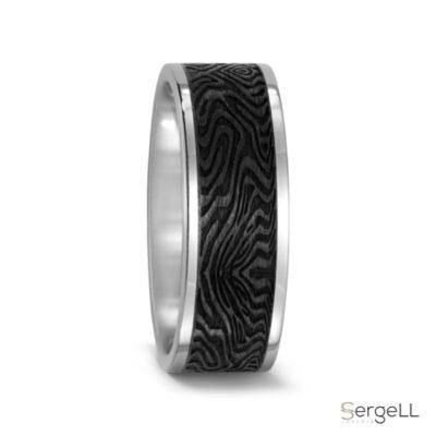 #anillos de carbono y titanio #anillos para hombre miami #anillos titanio y fibra de carbono